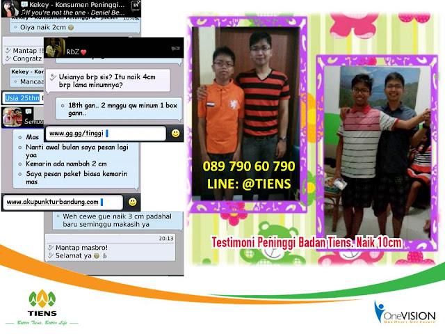 Testimoni Peninggi Badan Tiens Kepulauan Bangka Belitung, Bukti NHCP Tiens Kepulauan Bangka Belitung, Kesaksian Obat Tinggi Badan Tiens Kepulauan Bangka Belitung, Obat Peninggi Badan Tiens Kepulauan Bangka Belitung, Susu Kalsium NHCP Tianshi