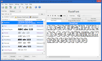 Screenshot X-Fonter 10.0.0.59 Full Version