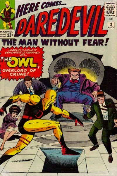 Daredevil #3, the Owl