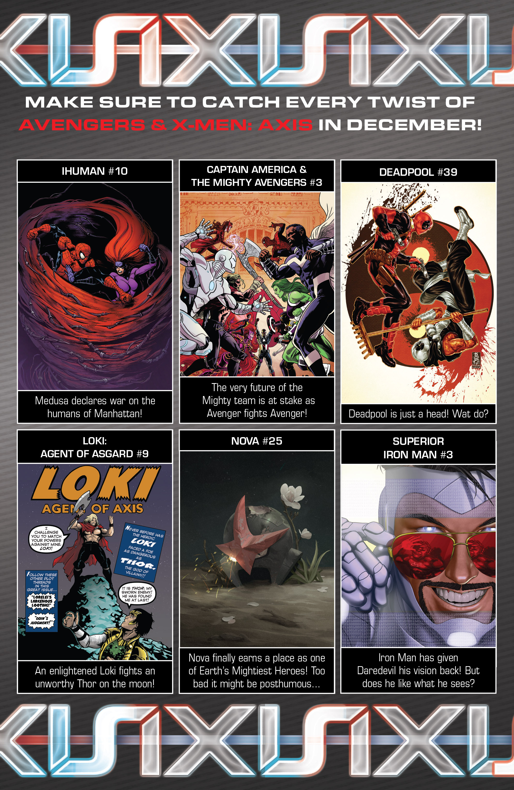 Read online Avengers & X-Men: AXIS comic -  Issue #8 - 27