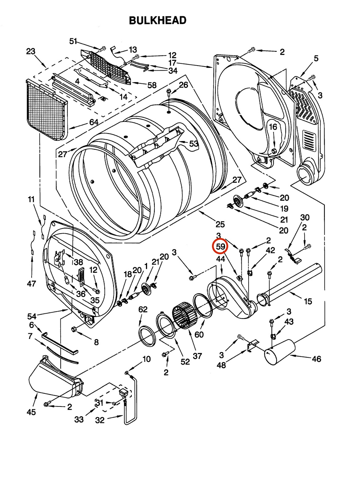 Kenmore 90 Series Dryer Parts Diagram Car Security System Wiring How To Fix A Gas That Will Not