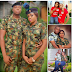 See Lovely Pre Wedding Photos Of A Female Soldier Who Is Set To Marry A Navy Personnel