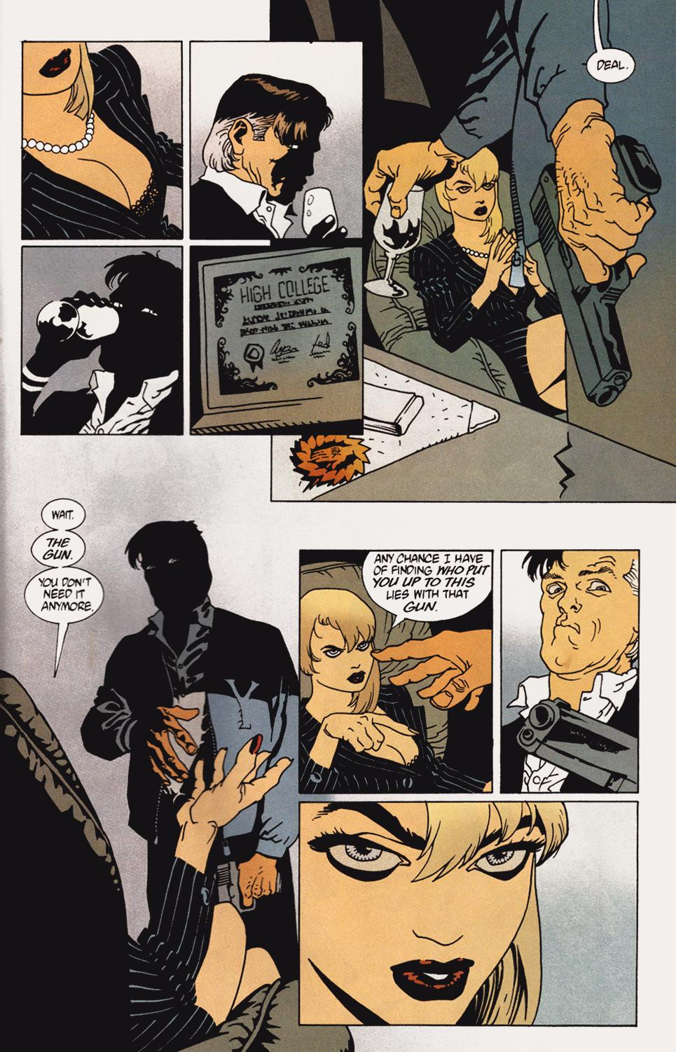 Read online 100 Bullets comic -  Issue #5 - 19