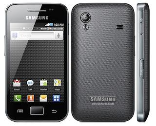 Cara Unbrick Samsung Galaxy ACE S5830 Mati Getar