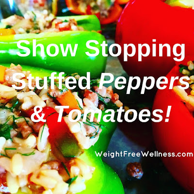 New Stuffed Peppers and Tomatoes!