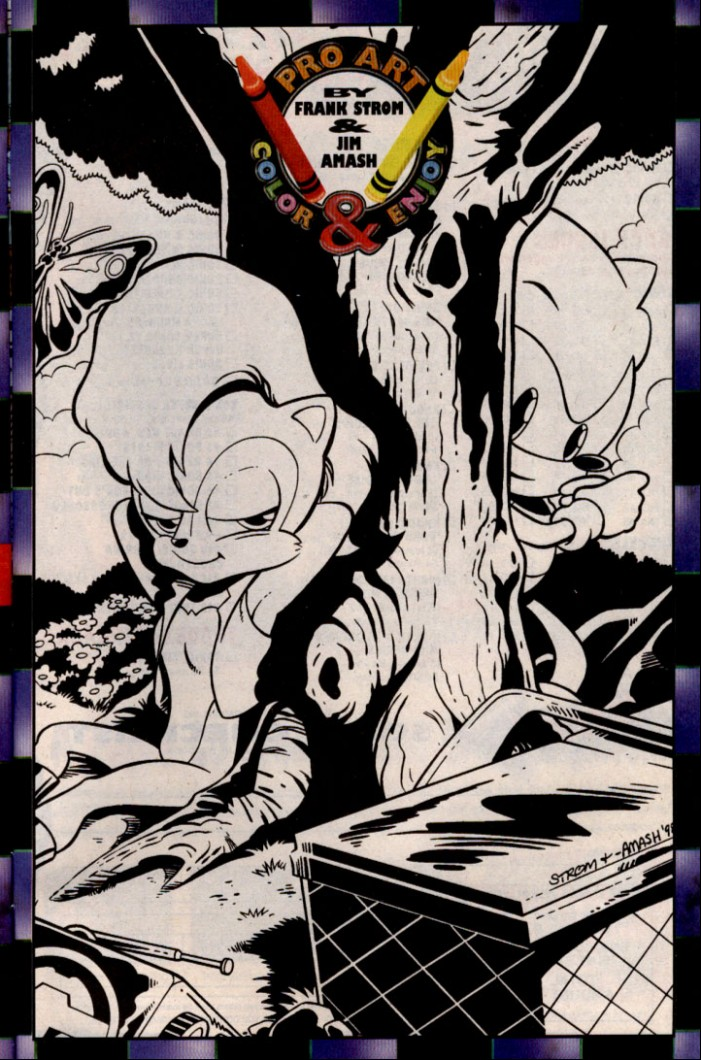 Read online Sonic The Hedgehog comic -  Issue #83 - 28