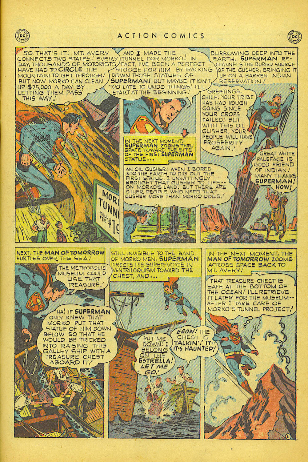Read online Action Comics (1938) comic -  Issue #150 - 12