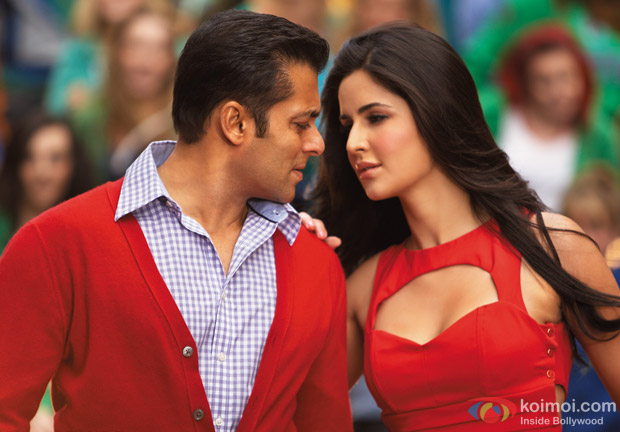 Salman Khan And Katrina Kaif In Ek Tha Tiger: Katrina Kaif In Ek Tha Tiger