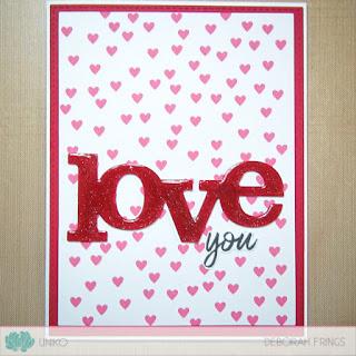 Love You sq - photo by Deborah Frings - Deborah's Gems