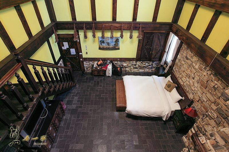 清境歐風寵物民宿|普羅旺斯玫瑰莊園villa家庭房型