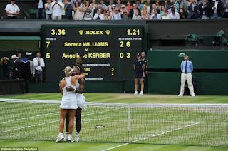 Serena Williams defeats Angelique Kerber