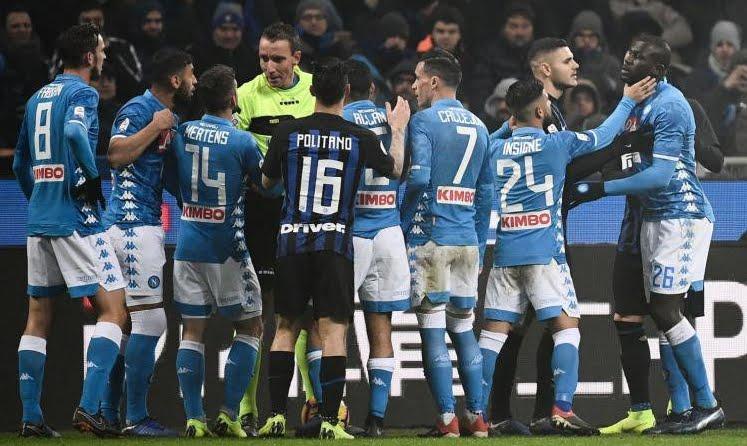 Cosa ha deciso il giudice sportivo dopo Inter-Napoli.