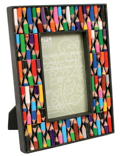 marco de lapiceros de colores