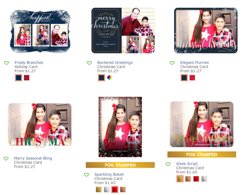 BellaGrey Designs: Our 2016 Shutterfly Holiday Cards