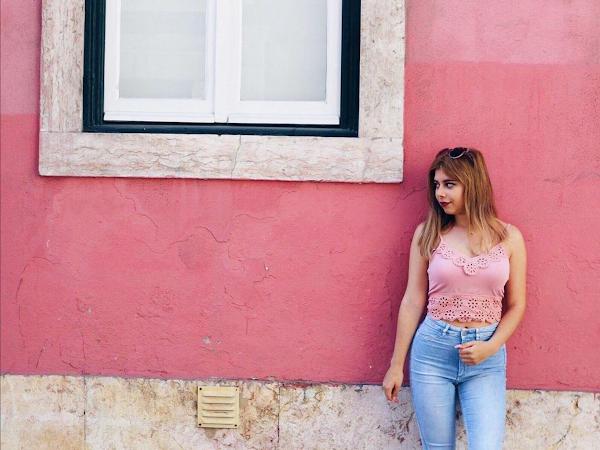 Look - Pink Wall #35