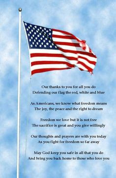 Happy Flag Day Quotes 2016: our thanks to you for all  you do defending our flag the red, white, and blue,