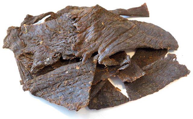 flaming beef jerky