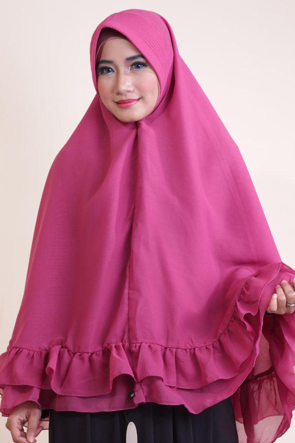Jilbab Syar I Terbaru Bahan Sifon Ceruty Belanja Hijab Murah Via