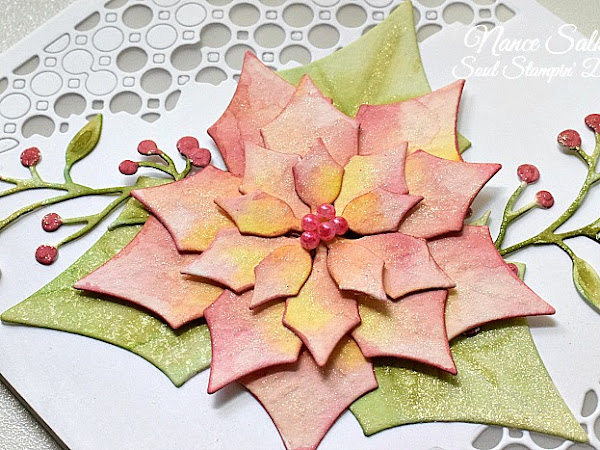 CAS Christmas - Poinsettia Reminder