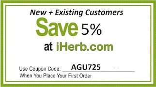 SAVE 5% OFF YOUR ORDER ON IHERB.COM