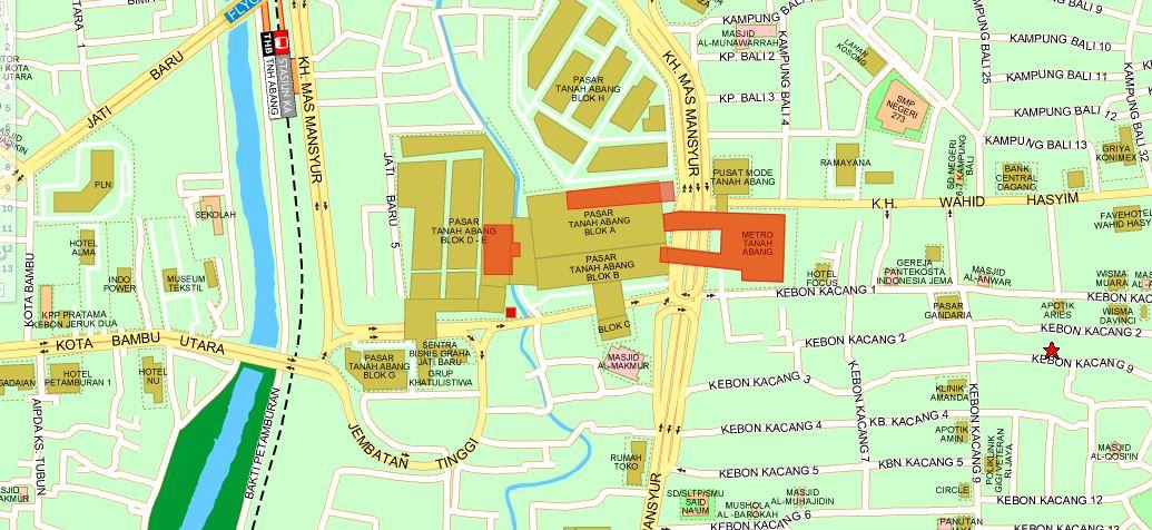 100+ Contoh Denah Pasar Tanah Abang Terbaru