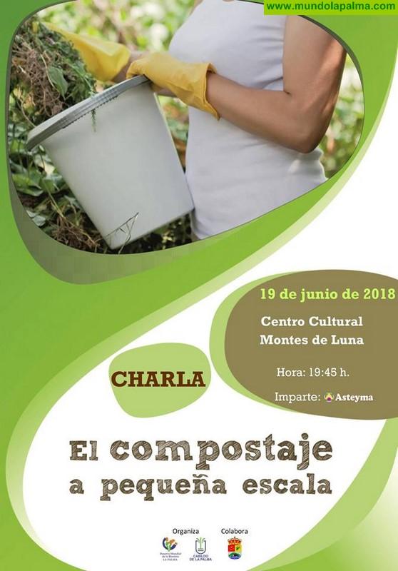 """Charla """"El compostaje a pequeña escala"""" en Villa de Mazo"""