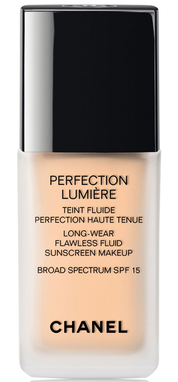 CHANEL PERFECTION LUMIÈRE Long Wear Flawless Fluid Makeup SPF 15