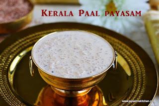 Kerala paal payasam