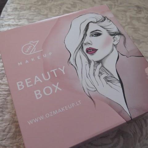 OŽ makeup beauty box grožio dėžutė ir grožio sistema
