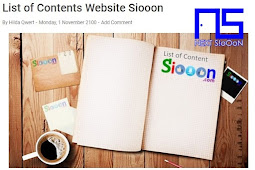 Information About Siooon Website