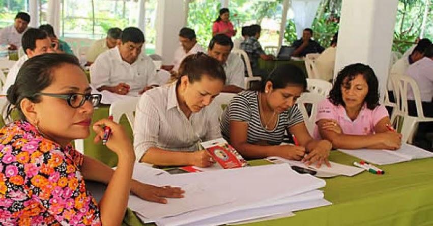 MINEDU capacita a 13 mil directores y subdirectores de colegios públicos del país - www.minedu.gob.pe
