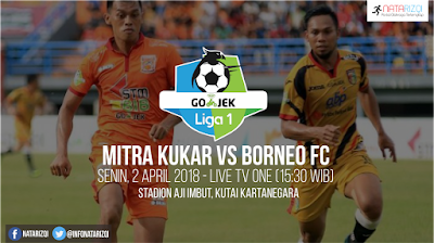Live Streaming Mitra Kukar vs Borneo FC