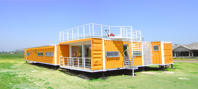 Earthquake-Resistant Modular Shipping Container Home 1