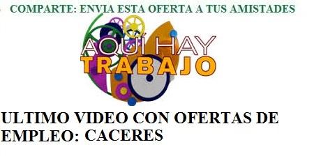Cáceres, AQHT. Lanzadera de Empleo Virtual