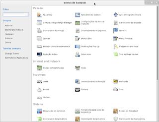 Configurando o Menu do Linux Mint