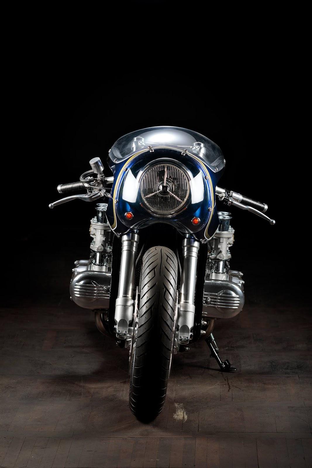 Honda GL 1000 »Blueberry Bomber«.