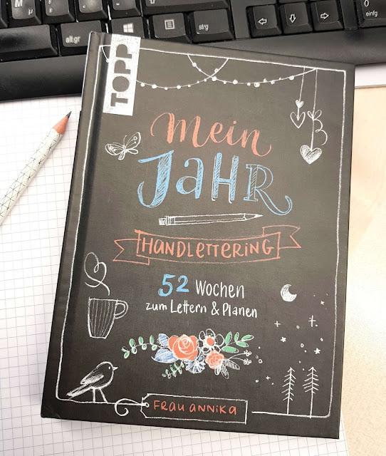 Handlettering Mein Jahr - Frau Annika