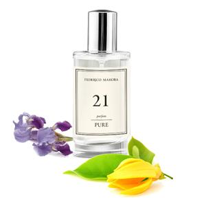 Perfume Floral Amadeirado FM 21