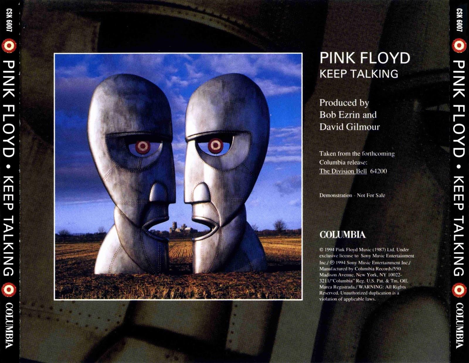 """Resultado de imagem para canção """"Keep Talking"""" do álbum The Division Bell."""