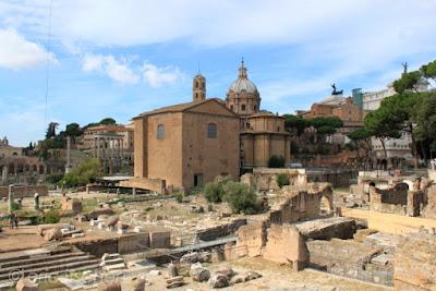 Voyage à Rome, forum romanum, forum romain, Rome, ruine,
