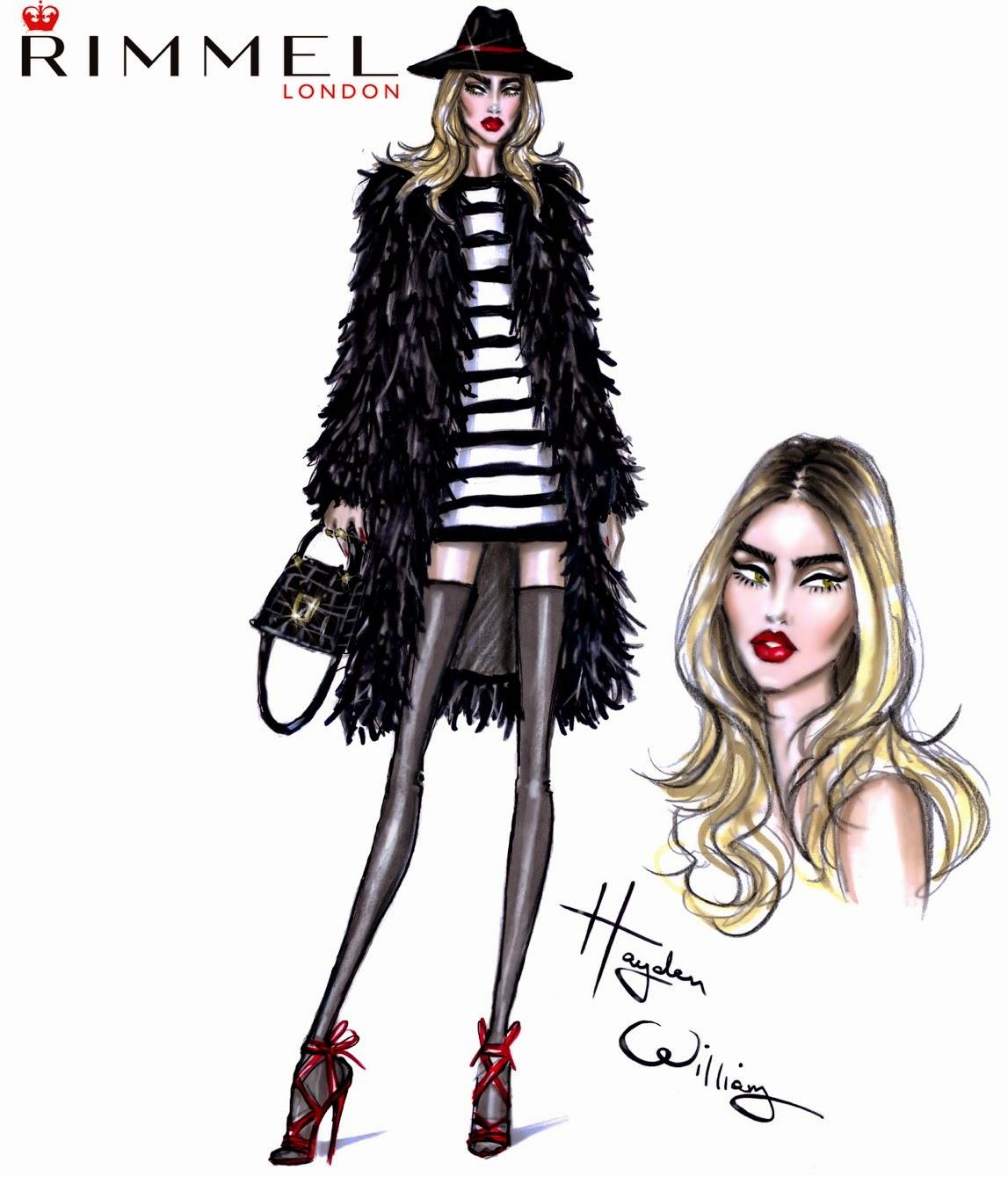 Hayden Williams Fashion Illustrations: February 2015