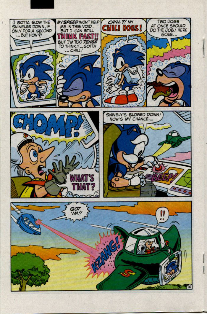 Read online Sonic The Hedgehog comic -  Issue #30 - 15