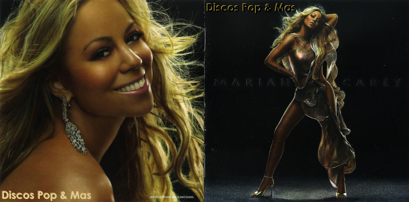 Discos Pop & Mas: Mariah Carey - The Emancipation of Mimi ...