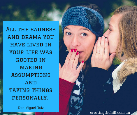 All the sadness and drama you have lived - Don Miguel Ruiz quote