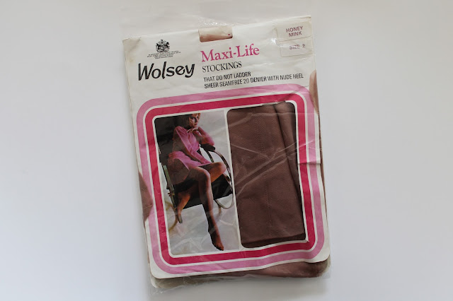 for sale lot of 2 pairs wolsey 1960s-70s stockings via lovebirds vintage