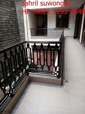 pagar besi tempa untuk rumah klasik