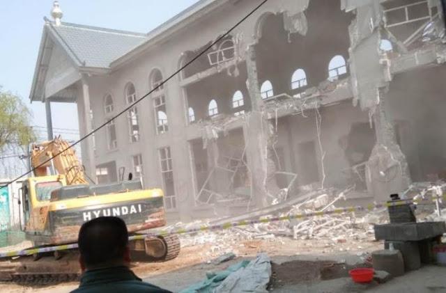河南三自教堂遭充公建酒店 信徒不满但称无力反抗