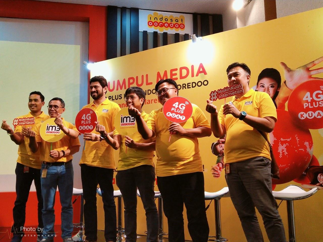 #MakinKuatInternetan : Indosat Ooredoo Kampanyekan Internetan Makin Kuat Dengan 4G Plus Kuat