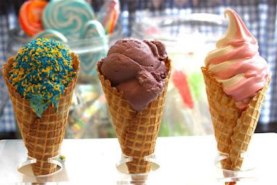 cần đa dạng hương vị và màu sắc kem