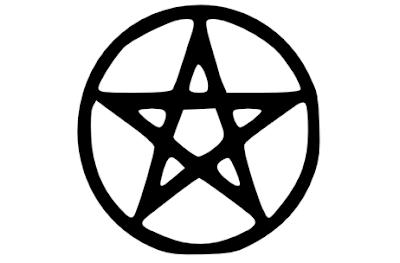 O Pentagrama está associado à prática de magia negra
